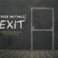 your initials exit